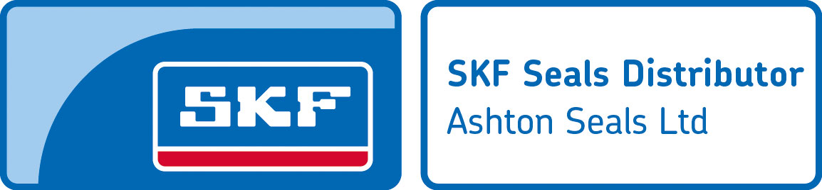 SKF logo with Ashton Seals named as a distributor