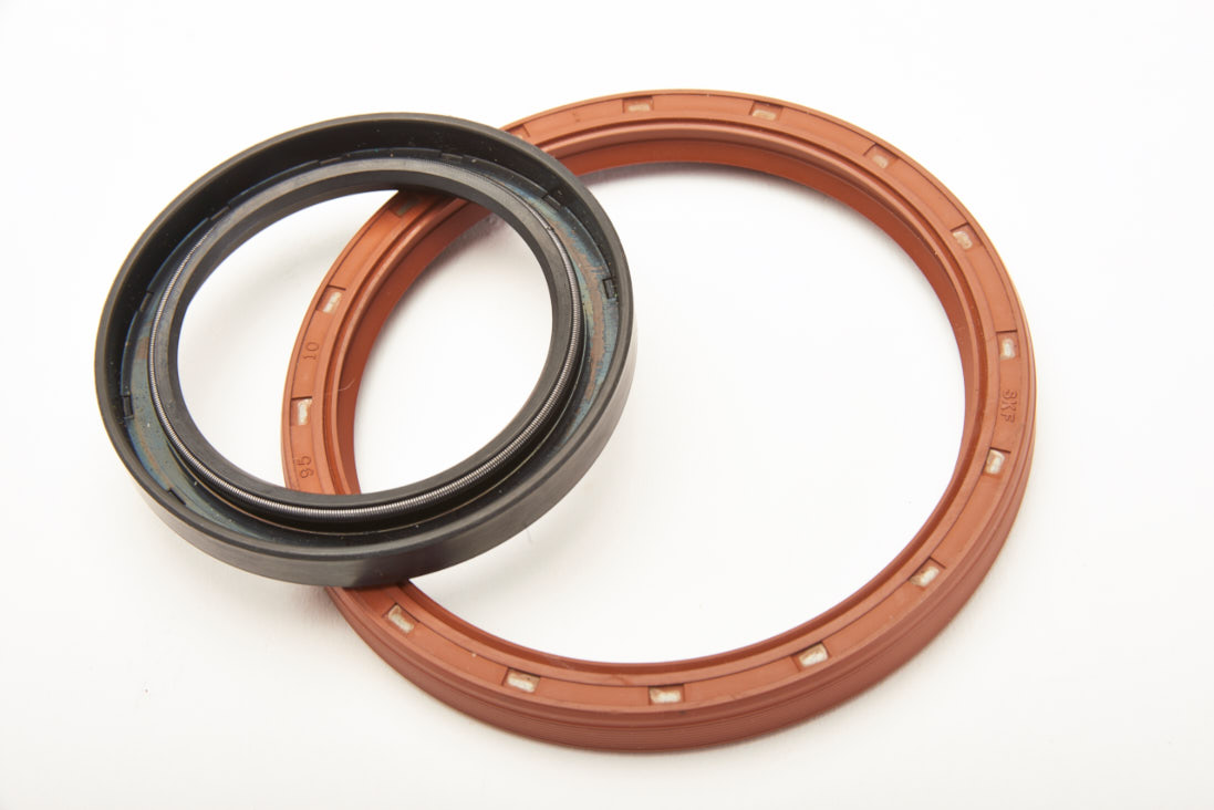 Two rubber Oil Seals