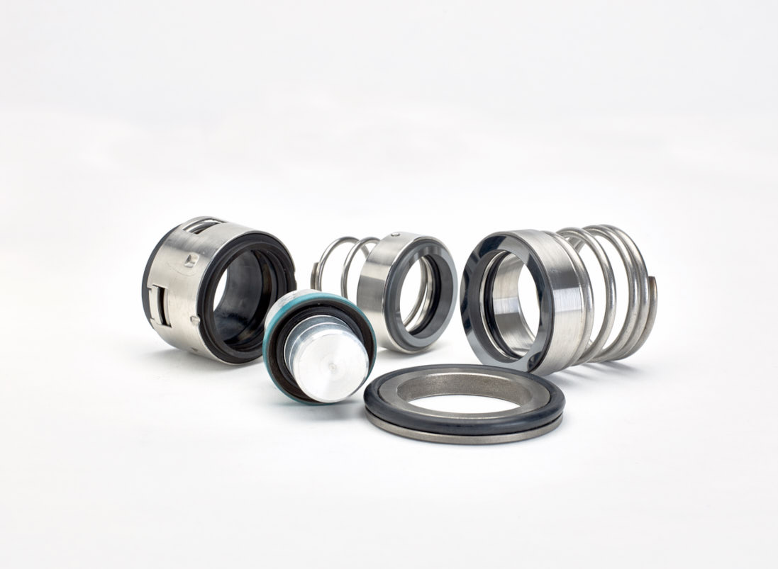 A selection of mechanical seals.